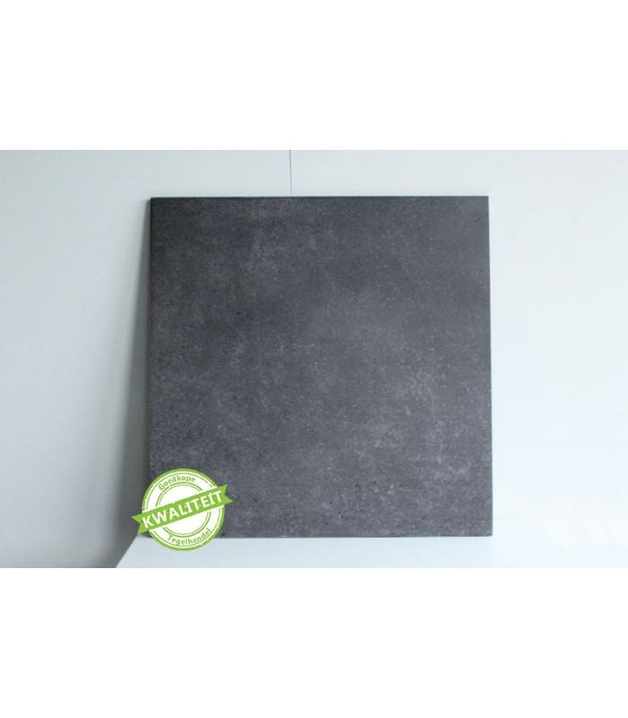 umbria gres zwart 60x60