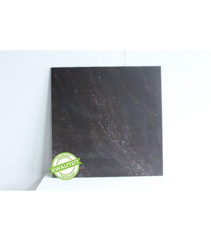 impronta ceramiche zwart 60x60